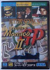 AYRTON SENNA'S SUPER MONACO GP Ⅱ / SEGA MEGA DRIVE JAPAN