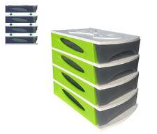 Imperdibile cassettiera 4 cassetti multiuso in plastica bama medya box da banco