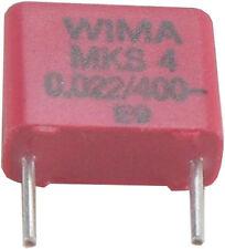 10 St WIMA MKS-4 Kondensator 0,022µF 22nF 22.000pF 400VDC 10% RM 7,5 akt Neuware