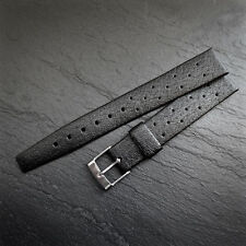 MOD DEP SWISS TROPIC STAR Divers Watch Strap 16mm GENUINE Vintage Rubber Black