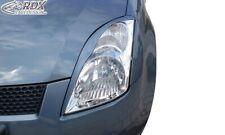 RDX Scheinwerferblenden Set Böser Blick für SUZUKI SWIFT MZ EZ 05-10 BLENDEN
