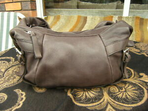 Kenneth Cole New York brown soft leather Shoulder Bag in excellent condition