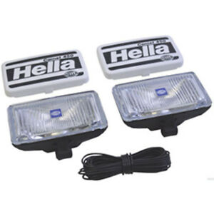 Genuine Hella Comet 450 Fog Lamp Set 2 Lamps Bulbs And Fitting Kit
