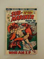 Sub-Mariner #50, FN+ 6.5, 1st Appearance Namorita