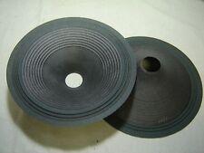 """Pr. 12"""" Paper Speaker Cones -- Recone Parts -- 1221"""