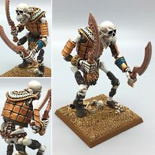 WARHAMMER AGE OF SIGMAR TOMB KINGS UNDEAD SKELETON BONE GIANT PAINTED METAL