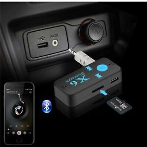 Kit Vivavoce per auto Fm MP3 Aux 3.5mm Bluetooth Transmitter For Speaker