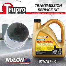 SYNATF Transmission Oil + Filter Kit For Subaru Forester SF SG Impreza GF GG