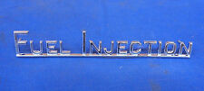 JAGUAR / DAIMLER 'FUEL INJECTION' BOOT BADGE FITS XJ12 SERIES 2 BD47265