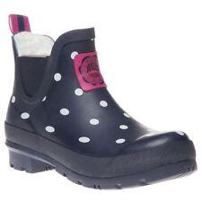 Womens Wellies Joules Wellibob NAVY SPOT Boots UK 7 EUR 40/41 wellington BNIB