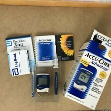Accu-Check Advantage Diabetes Monitoring Kit In Box with Instructions