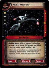 Star Trek CCG 2E Adversaries I.K.S. Maht-H'a FOIL 1R401