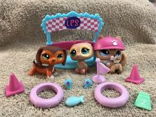 Hasbro Littlest Pet Shop Pets Trainin' Park 673 674 675 Fox Dachshund Owl Lot