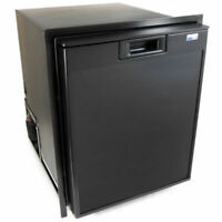 Norcold 2.7 Cu. Ft. Marine Refrigerator/Freezer AC & 12/24DC Black NR740BB LC