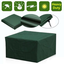 Garden Patio Furniture Cover Seat Waterproof Patio Rattan Cube Table Outdoor In