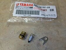 NEW OEM YAMAHA CARBURETOR FLOAT NEEDLE VALVE ASSEMBLY + SEAT RZ350 RZ 350 84-85