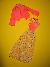 (42) antiguo dos piezas de barbie Best Buy mod vestido + juboncito # 9580 mattel 1976