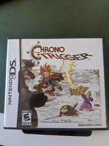 Chrono Trigger - Nintendo DS - Complete - Game, Box and Manuals