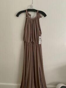 maggy london mocha dress size 6