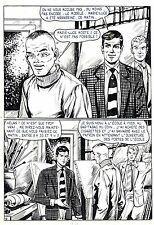 FLASH ESPIONNAGE PLANCHE ORIGINALE AREDIT PAGE 9
