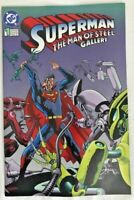 SUPERMAN: THE MAN OF STEEL GALLERY #1 DC COMICS 1995
