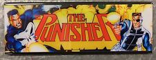 The Punisher Arcade Game Marquee Fridge Magnet