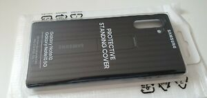 Official Genuine Samsung Galaxy Note 10 Protective Stand Cover Case -  Black