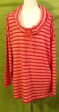 St. John's Bay Woman Long  Sleeve /Plus Size 3X Top /Blouse/$40 NWT