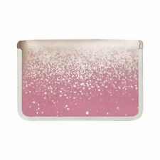 Danielle Creations Pink & Gold Velvet Manicure Set Nail Care Tool Kit Case