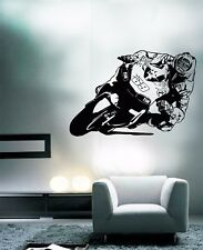 Nicky Hayden WALL ART motorcycle racer decal graphic adhesive UNIQUE