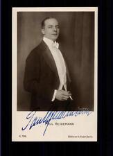 Paul Heidemann Autogrammkarte 20er Jahre Original Signiert ## BC 56694