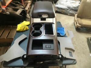 Console Front Floor Full Console With Lid Fits 10 FORD F150 PICKUP 3454319