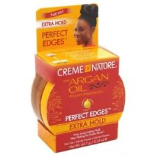 Creme Of Nature Argan Oil PERFECT EDGES EXTRA HOLD Hair Gel 63.7 g / 2.25 oz