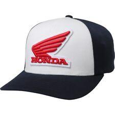 Taglia S/M Cappellino Originale Fox Racing Honda Flexfit Hat Blu Midnight
