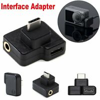 3 in 1 Adapter Charging / Audio / Transfer Connector For DJI Osmo Action Camera