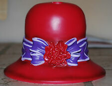 NEW Red Fashion Hat Toothbrush Holder for Society Lady