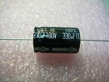 PANASONIC Aluminum Electrolytic Capacitor Axial 330uF 100V 20%  **NEW** 1/PKG