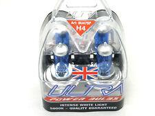 2 H4 Ultra Power 5000k Xenon Gas White Car Front Headlight Headlamp BRIGHT BULBS