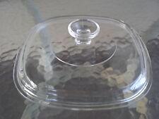 "Vintage ~ PYREX  ~ A-9-C ~ GLASS LID ~  8 5/8"" ~ CASSEROLE COVER ~ REPLACEMENT"