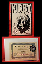 Kirby: Genesis Signed by Ken Haeser 25/499 Rare Blank Sketch Cover DF COA Sealed