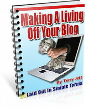 Make Money BLOGGING - Earning Living As A Blogger Is Easier Than You Think  (CD)