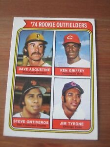 1974 OPC O Pee Chee #598 Ken Griffey - Reds Rookie Card                      ZB0