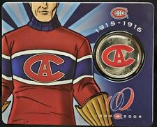 2009 Canada 50 Cents Montreal Canadiens Centennial Coin # 3 of 6