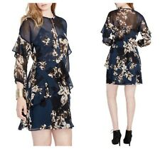 RACHEL ROY  BOHO SEXY  SHEER  RUFFLE  FLORAL   DRESS   Sz 2 UK 6   NWT  $ 119