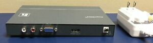KRAMER VP-422 HDMI to PC VGA RGBHV/HDTV Component Digital Scaler