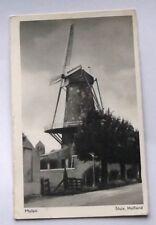 HOLLAND : Molen - Sluis. Holland.