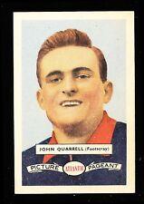 1958 Atlantic Petrol Footscray Bulldogs John Quarrell Card no. 32