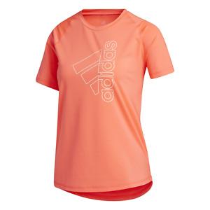 Adidas Performance Femme Sport Tee-Shirt Tech Insigne De Sport Tee Signal Rose