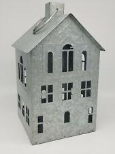 Better Homes & Gardens Galvanized Metal House Candle Holder Lantern