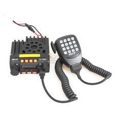QYT 25W Mobile Radio Dual Band Transceiver Intercom UHF VHF Ham 2-Way Radio To